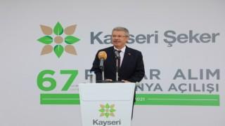 Kayseri Şeker'de 67'nci Kampanya Başladı