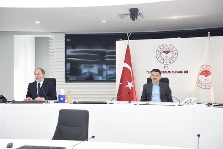 Bakan Pakdemirli, Erzurum Tarım Ve Orman Sektör Temsilcileriyle Biraraya Geldi