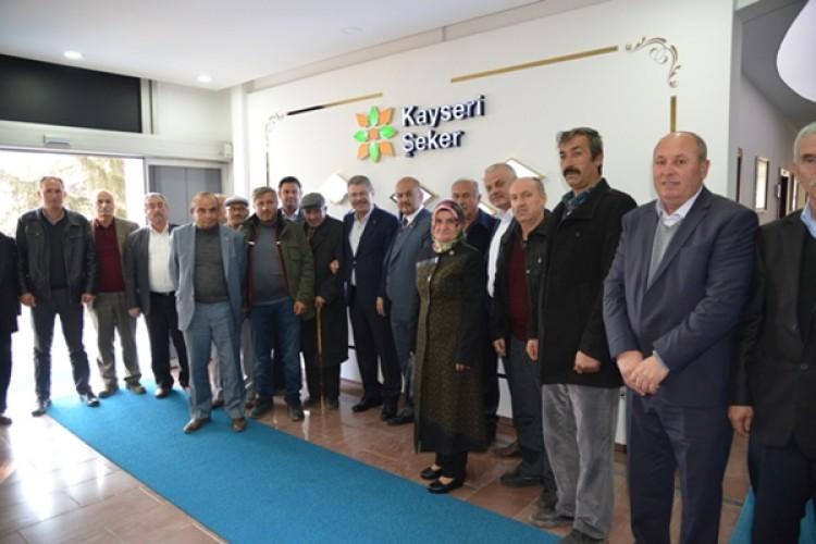 Yenipazar Çiftçilerinden Kampanya Sonu Kayseri Şekere Teşekkür Ziyareti