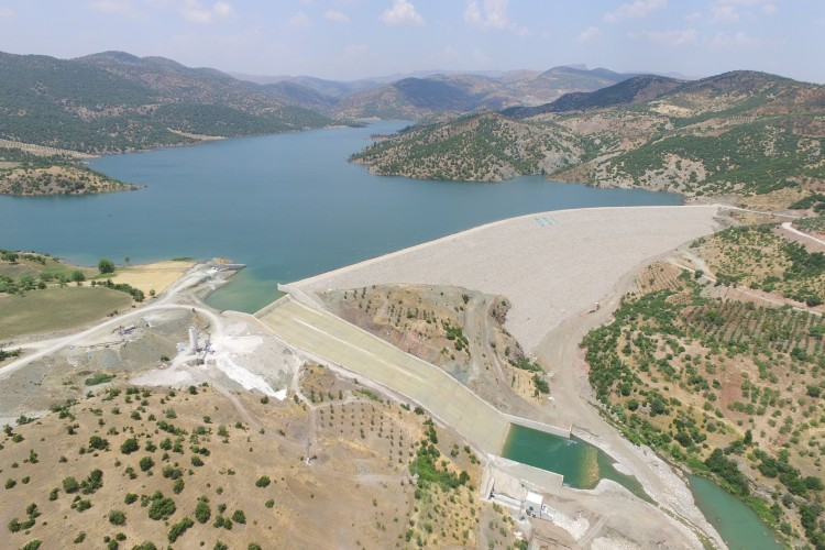 Kilis'in İçme Suyu Problemine Son Verecek Barajda Doluluk Oranı Yüzde 100'e Ulaştı