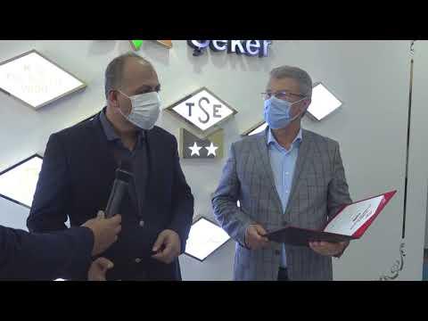 "Kayseri Şeker'e TSE ""Covid-19 Güvenli Üretim Belgesi"""